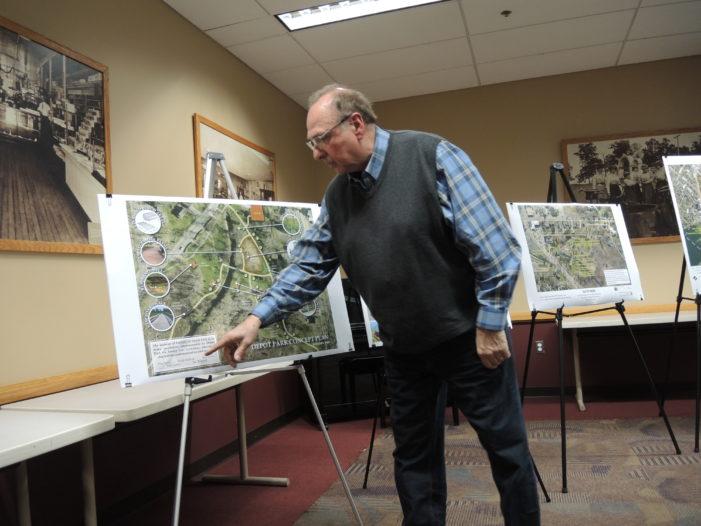 Final push for Depot Park pledges