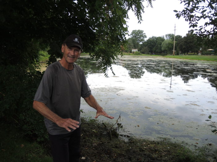 Pond residents appeal to community for help