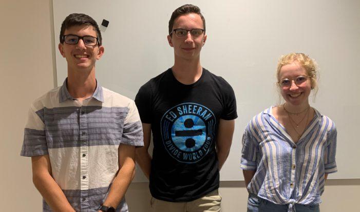 Trio up for National Merit scholarships