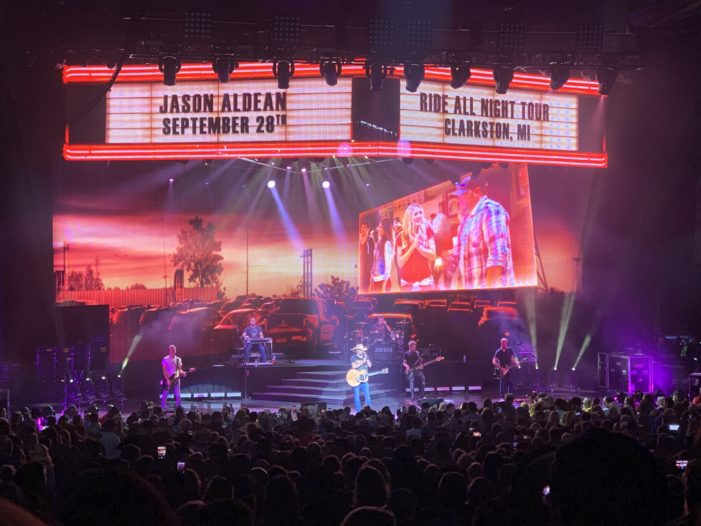 DTE closes 2019 season with Aldean two-nighter