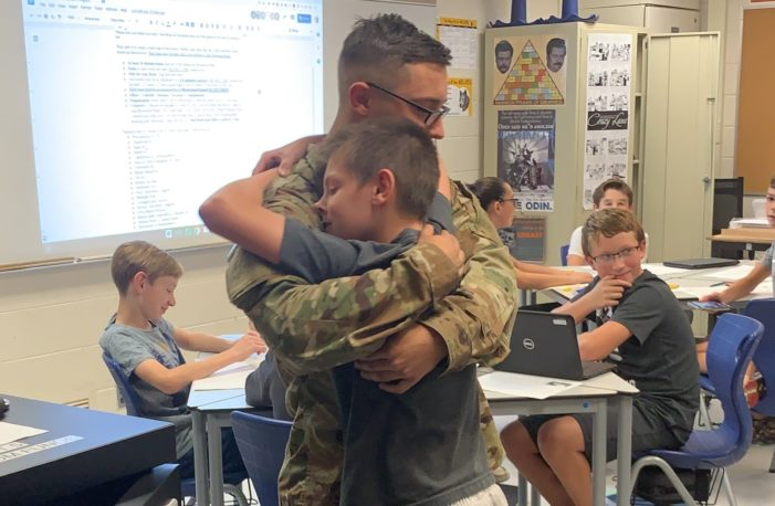 Army surprise for Clarkston bros
