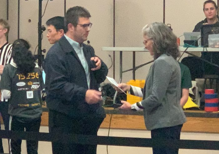Clarkston hosts FIRST-ever robotics competition