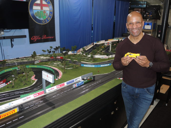 Hyper-realism is name of the game for slot-car racer