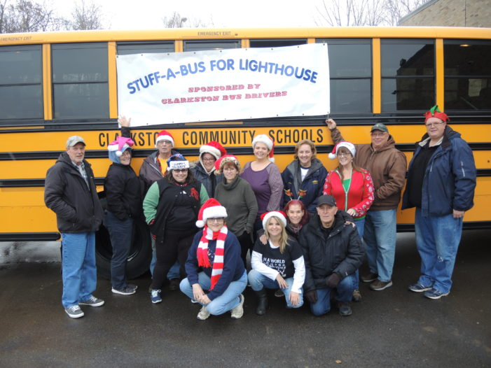 School bus drivers plan for biggest, best Stuff-A-Bus event