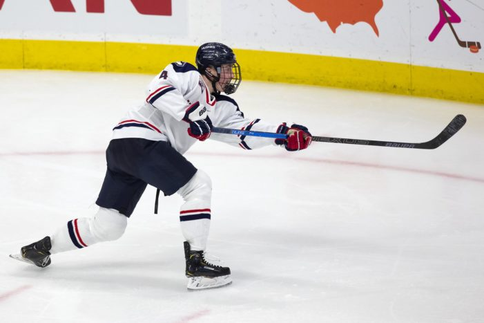 Clarkston grad battles back to NCAA ice