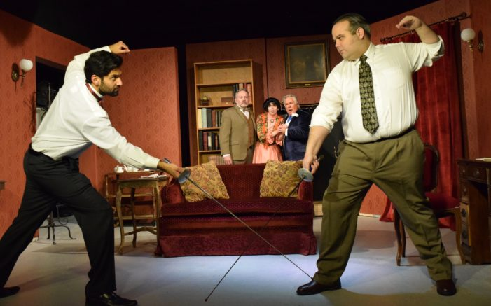 Sherlock on the case at Depot Theatre