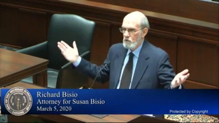 Bisio awarded $1,146, FOIA case rehearing denied