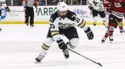 College hockey season ends early for Clarkston native