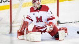 College goalie leaving game with no regrets