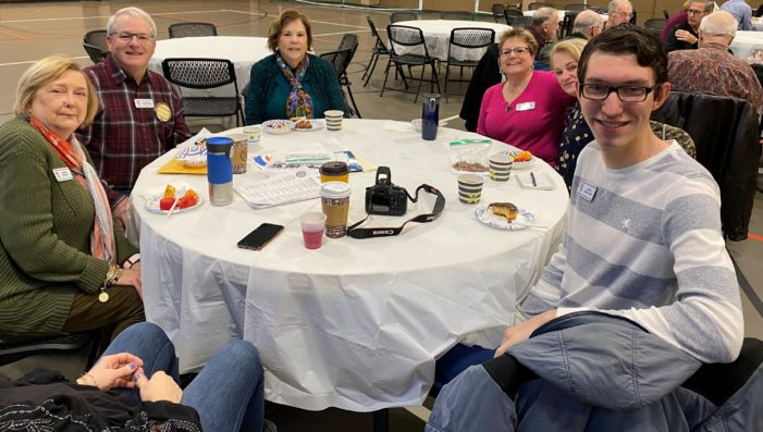 Optimists ready, willing to help those in need