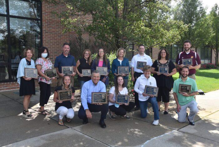 Everest staffers recognized