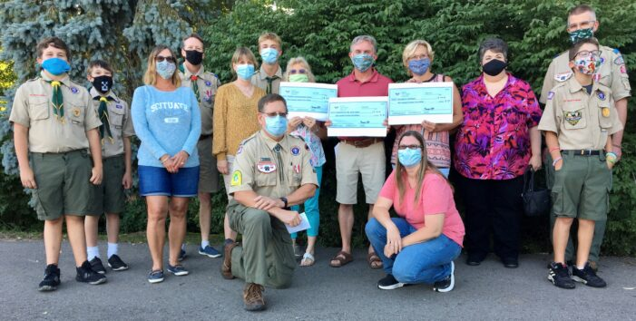 Boy Scouts give back to local causes