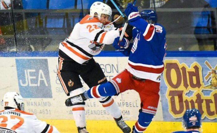 Local hockey star enjoying puck life in British Columbia