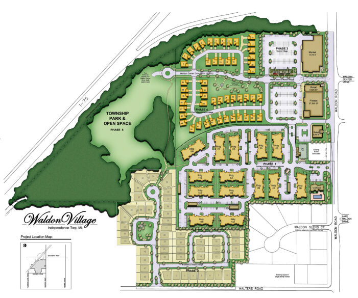 Waldon Village project heading for township board agenda