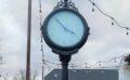 Downtown clock ticking again