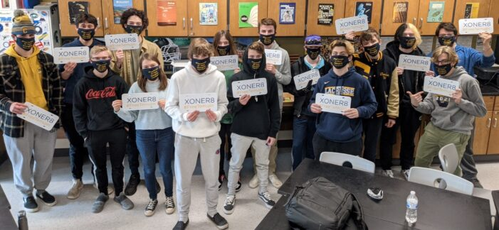 High school students fighting for justice
