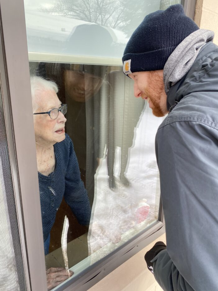 Clarkston therapist relishing special bond with 100-year-old great-aunt