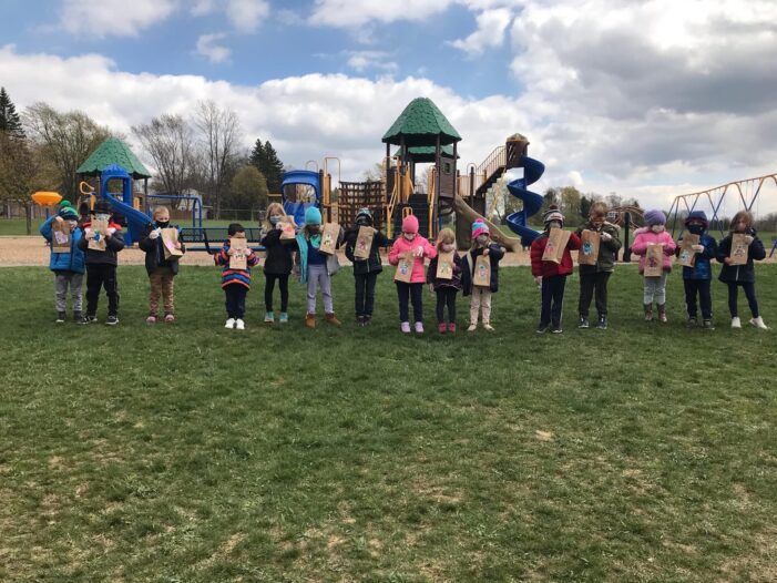 Young Clarkston students do their part for Earth Day