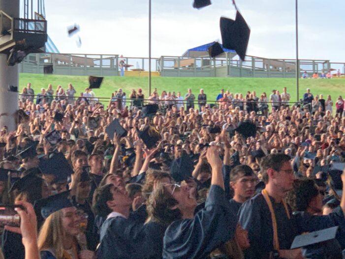 Clarkston graduates class of nearly 600