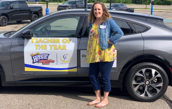 SMS educator humbled by Teacher of the Year accolades