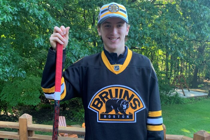 Heading to Beantown: Clarkston grad drafted by Bruins