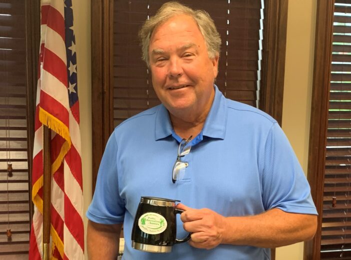 Outgoing township supervisor says 'it's just time' for retirement