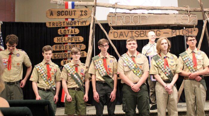 Davisburg Boy Scouts make history