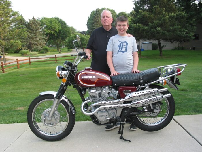 Local motorcycle enthusiast re-elected to national position