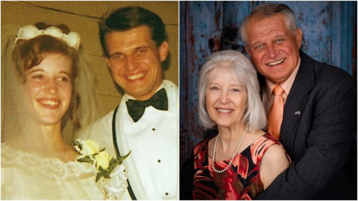 Local couple celebrating 50th anniversary