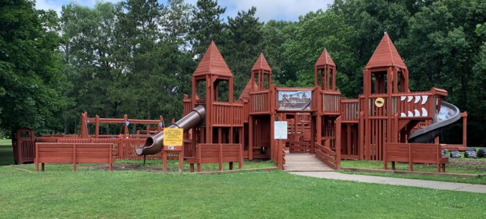 Makeover for local playground