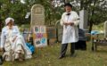 Cemetery walk shares early history
